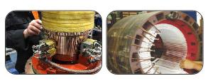 Repair of AC / DC Motors & Drives